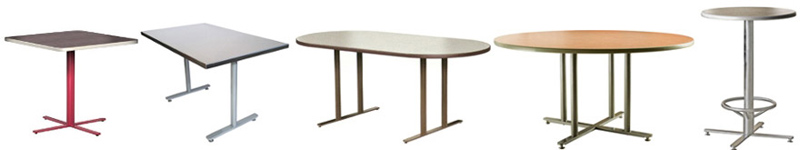 Half Inch Thick Flat Steel Bar Stock Table Base Configurations
