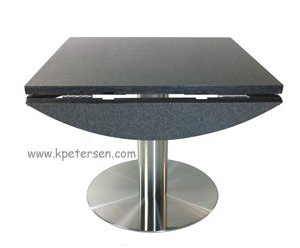 Stone Dropleaf Restaurant Table