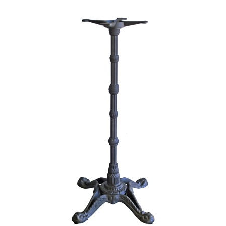 Ornate Cast Iron Crossfoot Bar Height Table Base