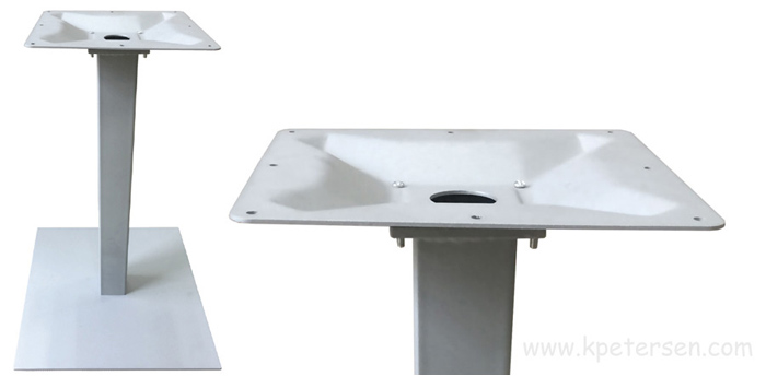 Aluminum Umbrella Table Base Detail