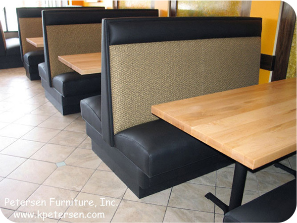 Restaurant Booths - High Back With Headroll