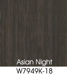 Asian Night Plastic Laminate Selection