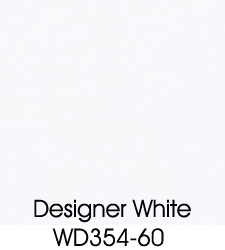 Designer White Plastic Laminate Selection