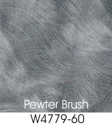 Pewter Brush Plastic Laminate Selection