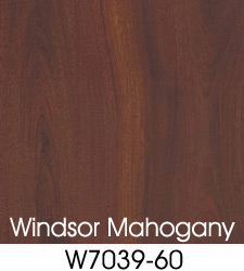 Windsor Mahogany Plastic Laminate Selection