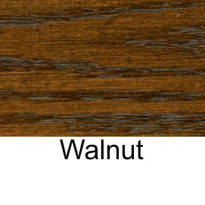 Wood Veneer Restaurant Table Standard Walnut Stain On Oak