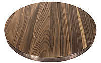 Walnut Veneer Restaurant Tables