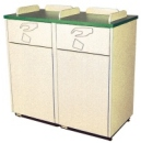 Deluxe Decorator Waste Receptacles