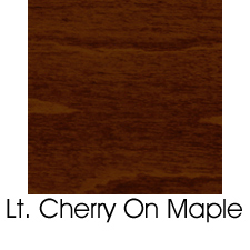Light Cherry Stain On Maple