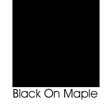 Black On Maple