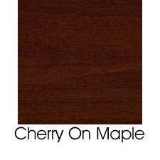 Cherry Stain On Maple
