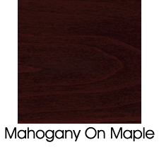 Mahogany Stain On Maple