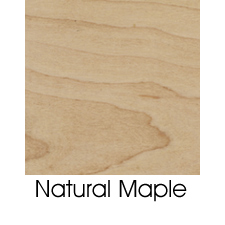 Natural Clear On Maple