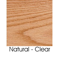 Natural Clear On Oak