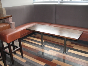 Maple Restaurant Booth Table Top Coffee Table Height